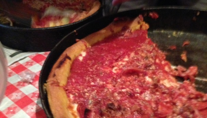Is Gino's East the Best Deep Dish Pizza?