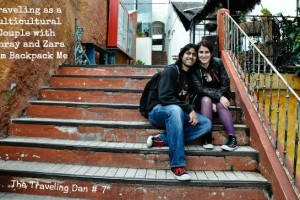 The Traveling Dan # 7 – Traveling as a Multicultural Couple with Ashray and Zara from Backpack Me