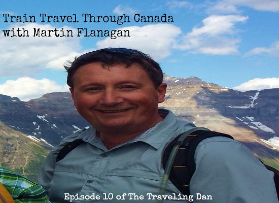Martin Flanagan Train Travel